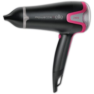 Uscator de par ROWENTA Studio Dry+Effiwatts Elite CV5432F0, 2400W, 6 viteze, 3 trepte temperatura, negru-roz USCCV5432F0