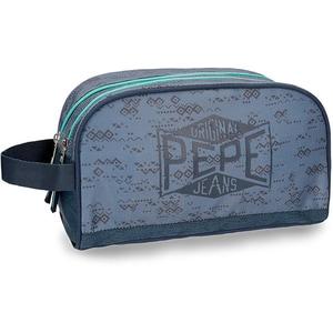 Borseta adaptabila PEPE JEANS LONDON Pierce 60344.61, albastru VAC6034461