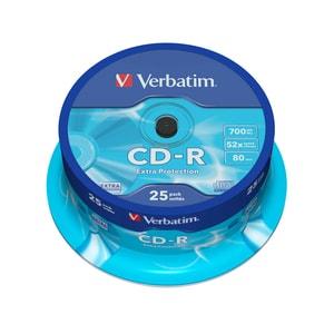 CD-R VERBATIM VB0096, 52x,  0.7GB, 25 buc PBBVB0096