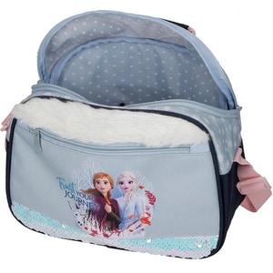 Geanta de umar adaptabila DISNEY Frozen Trust Your Journey 25448.61, albastru VGT2544861