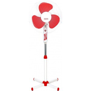 Ventilator cu picior MYRIA MY4211, 3 trepte viteza, 40cm, 40W, alb - rosu VNTMY4211