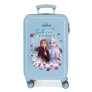 Troler copii DISNEY Frozen Trust Your Journey 25414.61, 55 cm, albastru VTR2541461