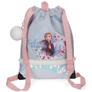 Rucsac tip sac DISNEY Frozen Trust Your Journey 25438.61, albastru VTR2543861