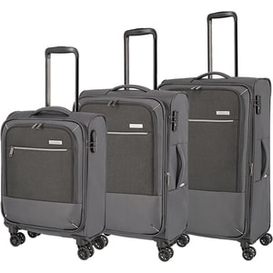 Set trolere TRAVELITE Arona SET90249-04, 55-66-77 cm, antracit VTRSET9024904