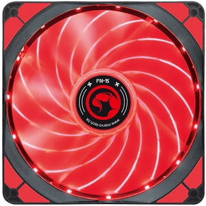Ventilator MARVO FN-15, led rosu, 140mm, 1500rpm CSAMARVOFN15RD