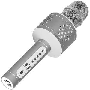Microfon Karaoke PROMATE VOCALMIC-3, Bluetooth, Boxa portabila, gri MCRVOCALMIC3SV
