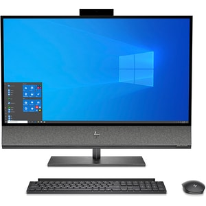 "Sistem PC All in one HP Envy 32-a0000nq, Intel Core i7-9700 pana la 4.7GHz, 31.5"" 4K, 16GB, 512GB SSD, NVIDIA GeForce GTX 1650 4GB, Windows 10 Home, negru AIO8XD98EA"