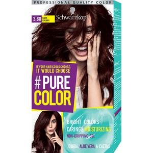 Vopsea de par SCHWARZKOPF Pure Color, 3.68 Cireasa inchisa, 142.5ml VOP2304360