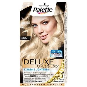 Vopsea de par PALETTE Deluxe, LX9 Blond Platinat Anti-ingalbenire, 115ml VOP2230784