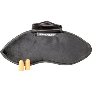 Masca pentru dormit + dopuri de urechi WENGER 604598, poliester VAC604598