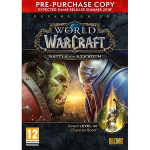 World of Warcraft: Battle for Azeroth PC Pre-Purchase Box JOCPCWOWBAPPB