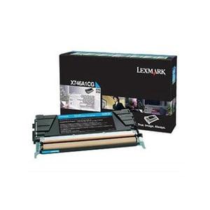 Toner LEXMARK X746A1CG X746/48 Return Program, cyan CSMX746A1CG
