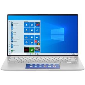 "Laptop ASUS ZenBook 14 UX434FLC-A5313T, Intel Core i7-10510U pana la 4.9GHz, 14"" Full HD, 16GB, SSD 512GB, NVIDIA GeForce MX250 2GB, Windows 10 Home, Icicle Silver LAPUX434FA5313T"