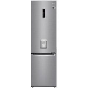 Combina frigorifica LG GBF62PZHZN, No Frost, 380 l, H 203 cm, Clasa A++, Smart Diagnosis, Wi-Fi, argintiu CBFGBF62PZHZN