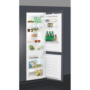 Combina frigorifica incorporabila WHIRLPOOL ART 6502/A+, LessFrost, 273 l, H 177 cm, Clasa A+, inox CBFART6502A