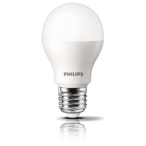 Bec LED PHILIPS, 9W, E27, 3000K, alb BECLED9WW27P