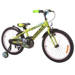 "Bicicleta copii Omega Master, 16"", verde BCLMASTER16VNAB"