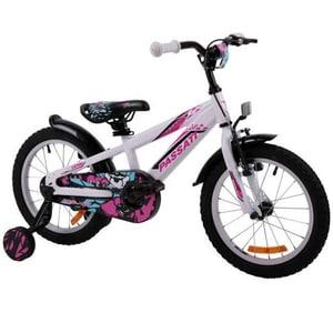 """Bicicleta copii Omega Gerald 2018, 16"""", alb BCLGERALD16ALB"""