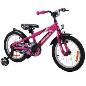 "Bicicleta copii Omega Gerald 2018, 16"", roz BCLGERALD16RZ"