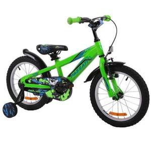 """Bicicleta copii Omega Gerald 2018, 16"""", verde BCLOGERALD16V"""