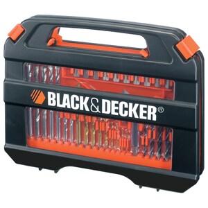 Set 35 accesorii insurubare/ gaurire BLACK & DECKER A7152 SCLA7152