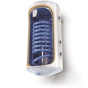 Boiler termo-electric vertical TESY BiLight cu 1 serpentina GCV9S 1504420 TSRCP, 150l, 2000W, 8bar, alb BLRGCV9S1504420