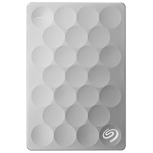 Hard Disk Drive portabil SEAGATE Backup Plus Ultra Slim STEH2000200, 2TB, USB 3.0, platinum HDDSTEH2000200