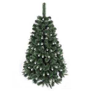 Brad artificial BRAZIDELUX Montana, 220 cm, verde-alb BRDPLMONTANA220