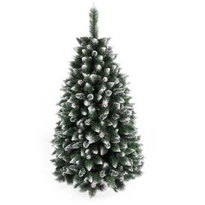 Brad artificial BRAZIDELUX Navara, 150 cm, verde-alb BRDPLNAVARA150