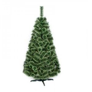 Brad artificial BRAZIDELUX Ontario, 150 cm, verde-alb BRDPLONTARIO150