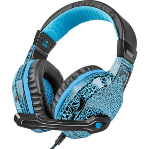 Casti Gaming FURY Hellcat, stereo, 3.5mm, negru-albastru CASFURYHELLCAT