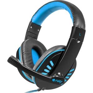 Casti Gaming FURY Nighthawk, stereo, 3.5mm, negru-albastru CASFURYNIGHTHAW