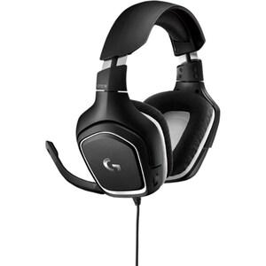 Casti Gaming LOGITECH G332 SE, stereo, multiplatforma, 3.5mm, negru-alb CAS981000831