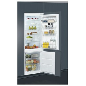 Combina frigorifica incorporabila WHIRLPOOL ART 872/A+/NF, No Frost, 264 l, H 177 cm, Clasa A+, 6th Sense,  alb CBFART872NFV