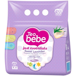 Detergent de rufe TEO BEBE Just Essentials Lavander, automat, 1.5kg CONTEOBBJLA15KG