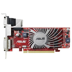 Placa video Asus HD5450, EAH5450 SILENT/DI/1GD3(LP), 1GB DDR3, 64bit CSAHD54501G3DI