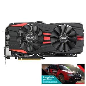 Placa video Asus AMD Radeon R9 290X, R9290X-DC2-4GD5, 4GB GDDR5, 512bit + joc cadou Dirt Rally CSAR9290XDC24GD