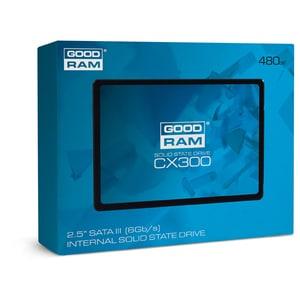 """Solid-State Drive (SSD) GOODRAM CX300, 480GB, SATA3, 2.5"""", SSDPR-CX300-480 SSDSSDPRCX30480"""