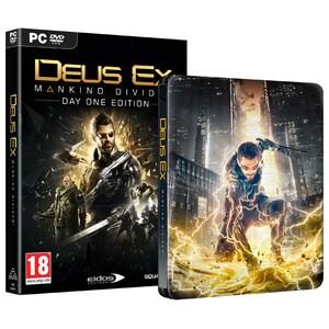 Deus Ex Mankind Divided Steelbook Edition PC JOCPCDEUSXMDS