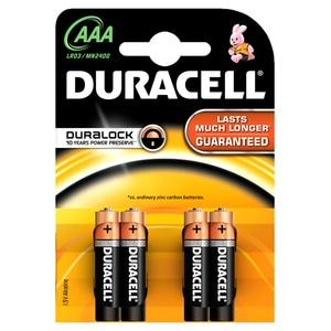 Baterii DURACELL AAAK4 Basic Duralock, 4 bucati BATDURBASAAAK4