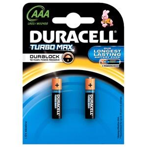 Baterii AAAK2 DURACELL Turbo Max Duralock, 2 bucati BATDURTURBAAAK2