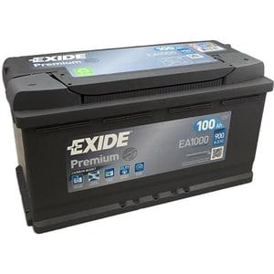 Baterie auto EXIDE Premium EA1000, 12V, 100Ah, 900A AUTEA1000