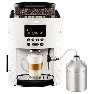 Espressor automat KRUPS Espresseria EA816170, 1.7l, 1450W, 15 bar, alb-negru EXSEA816170