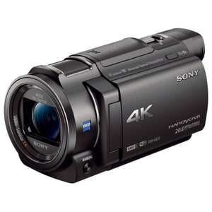 Camera video SONY HandyCam FDR-AX33, 4K, Wi-Fi, negru CMVFDRAX33B
