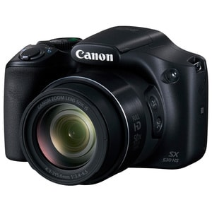 Camera foto digitala CANON PowerShot SX530, 16 MP, Full HD, Wi-Fi, negru CMFSX530HS