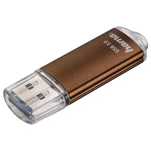 Memorie USB HAMA Laeta FlashPen 124004, 64GB, USB 3.0, maro USB124004