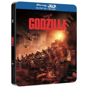Godzilla 2014 Blu-ray 3D + Blu-ray BD-3DGODZILLAFP