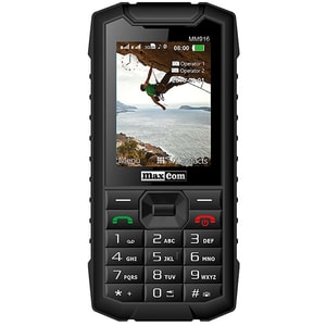 Telefon mobil MAXCOM Strong MM916, 3G, Dual SIM, Black GSMMM916BK