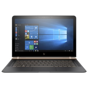 "Laptop HP Spectre 13-v100nn, Intel® Core™ i5-7200U pana la 3.1GHz, 13.3"" IPS Full HD, 8GB, SSD 256GB, Intel® HD Graphics 620, Windows 10 Home LAPY7W91EA"