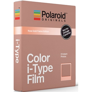 Film instant color POLAROID Originals, Rose Gold Edition, pentru i-Type ASL4832